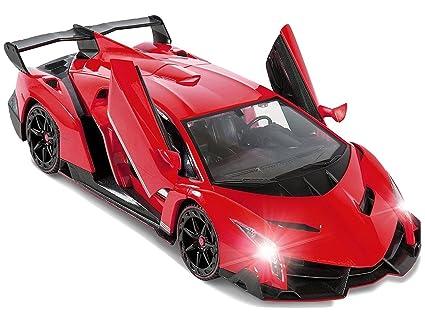 Amazon Com Red Lamborghini Veneno Battery Operated Remote Control