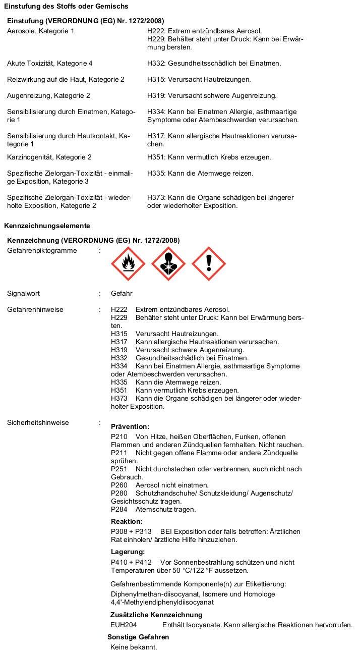 Würth Purlogic Top 1 K – Pistola de espuma – 500 ml (gris hormigón): Amazon.es: Bricolaje y herramientas