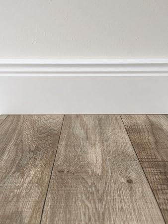 PVC Bodenbelag Holzoptik In Hellbraun | Vinyl Fußbodenbelag 100 Cm Länge U0026  2 M