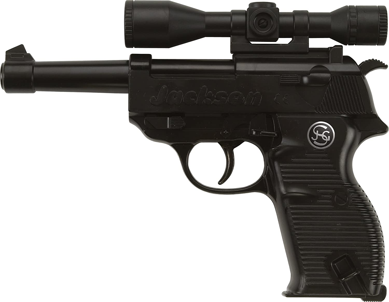 Schrödel - Gun Metal y plástico - Jackson - 13 Golpes: 19.5 cm