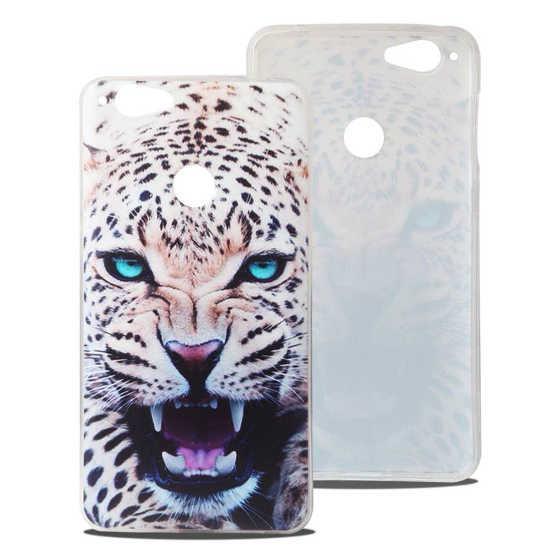 Guran® Silicona Funda Carcasa para Blackview R7 Smartphone Bumper TPU Case Cover-Leopardo