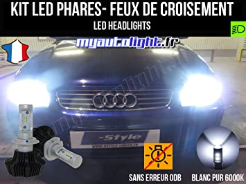Kit Bombillas de faros LED de H7 alta performance para Audi A3 8L