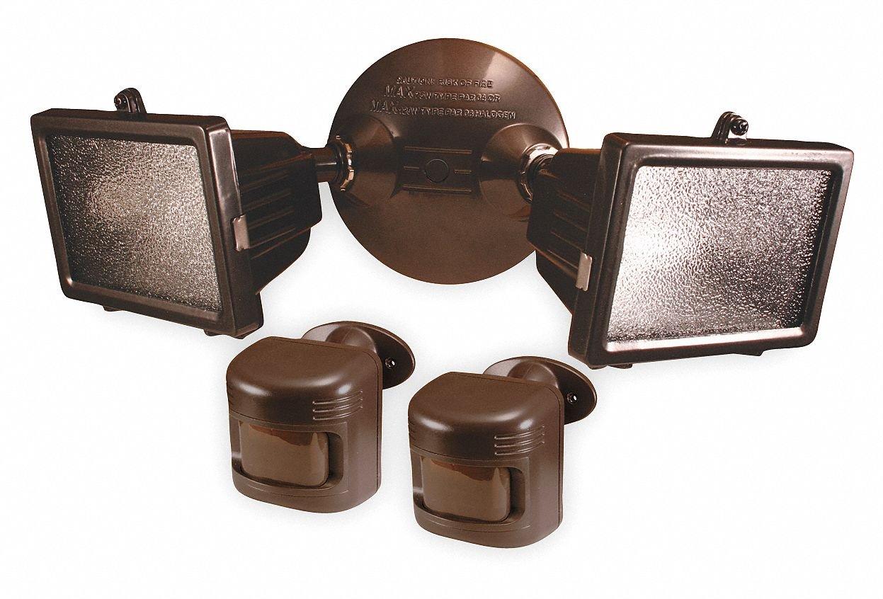 Motion Light,180 Deg View Angle,Bronze