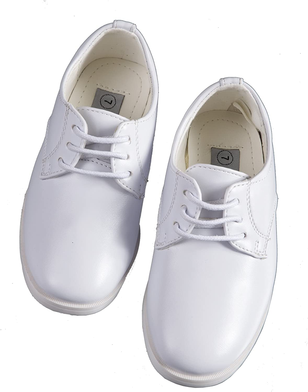 Amazon.com: Tuxgear Boys White Lace Up