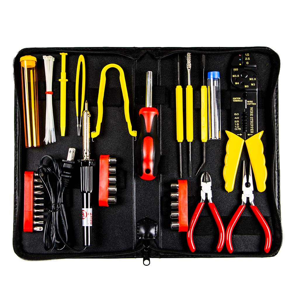 Professional Computer Desktop Repair Tool Kit (44 Pieces)