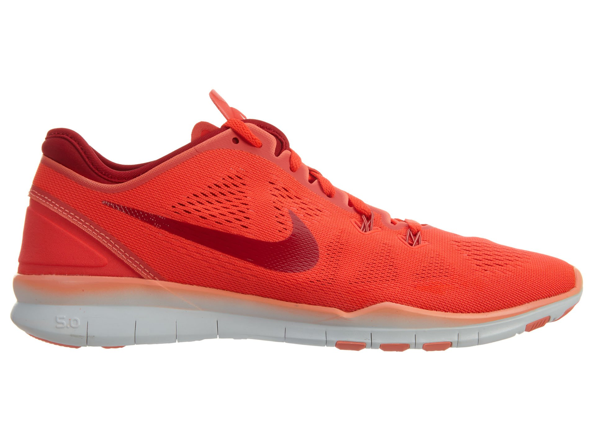 separation shoes 99bdf 79d72 NIKE Women's Free 5.0 TR Fit 5 Bright Crimson/Pink/White 704674-601 (Size:  10)