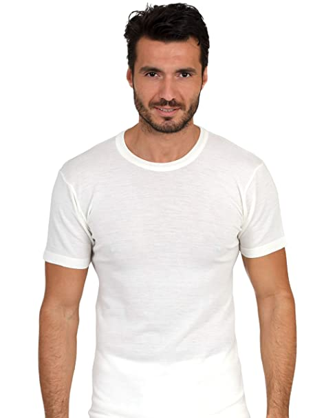 EGI Luxury Merino Wool Blend Men's Short Sleeve T-Shirt