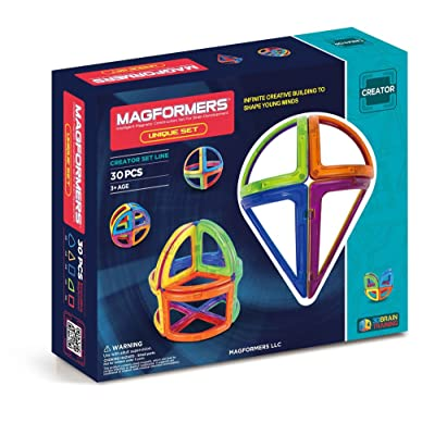 Magformers Creator Unique Set (30-pieces): Toys & Games