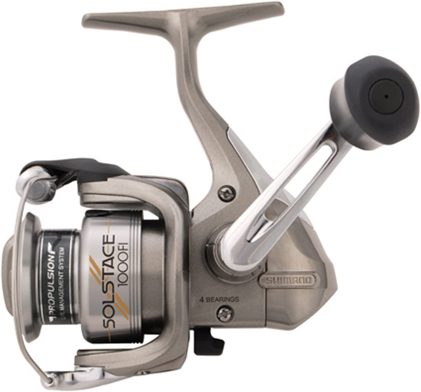 SHIMANO solstace Fi Spinning Carrete (6.2: 1) - SO1000FI, Gris ...