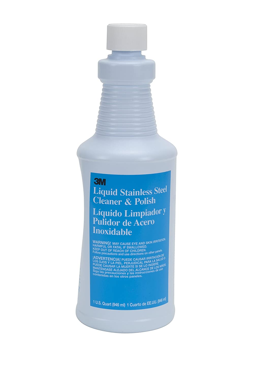 Amazon.com: 3M Liquid Stainless Steel Cleaner and Polish ...