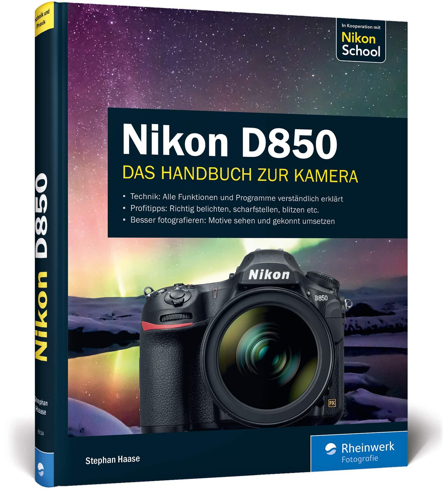 Nikon D850: 9783836261340: Amazon com: Books