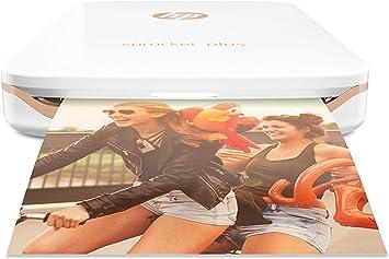 Hp Sprocket Plus Mobiler Fotodrucker Weiß Computer Zubehör