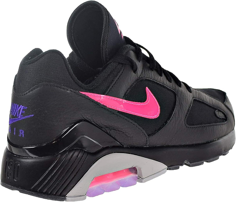 Nike Homme Air Max 180 Chaussure de Course 11 US Noir/Rose ...