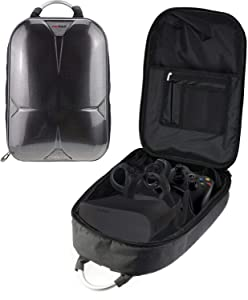 Navitech Rugged GreyBackpack/Rucksack/Travel Case Comaptible With The HP Reverb VR Headset