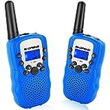 トランシーバー 無線機 子供 無線通信機 LEDライト通信範囲最大3km T3 携帯型 簡単操作 低放射 2台セット