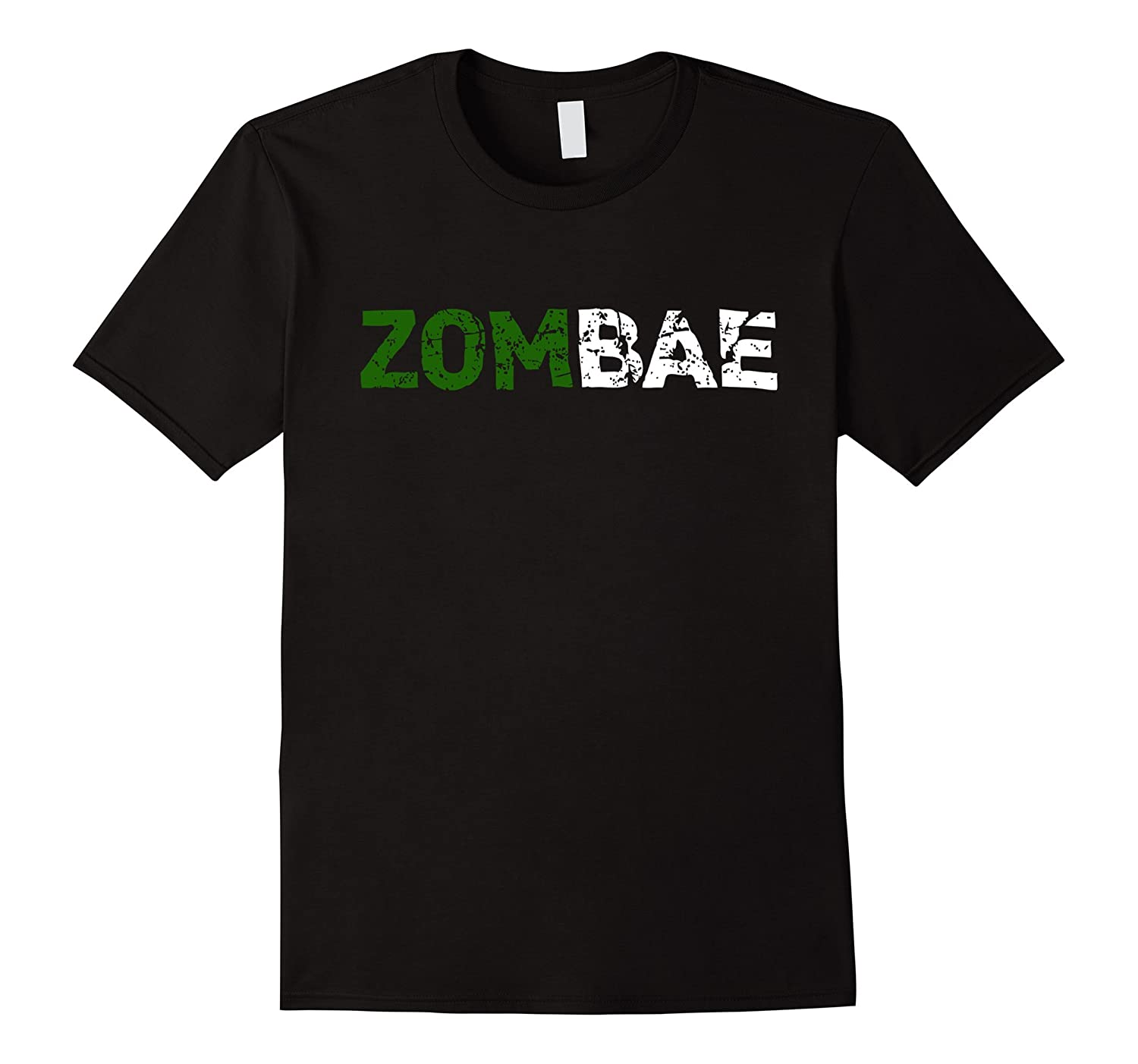 Zombae Zombie Bae Before All Else Humor Halloween T-Shirt-FL
