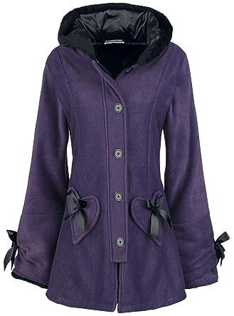 Poizen Industries Alison Coat Abrigos y Chaquetas Lila: Amazon.es: Ropa y accesorios