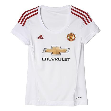 1ae6afb17 Amazon.com   adidas 2015-2016 Man Utd Womens Away Football Soccer T ...