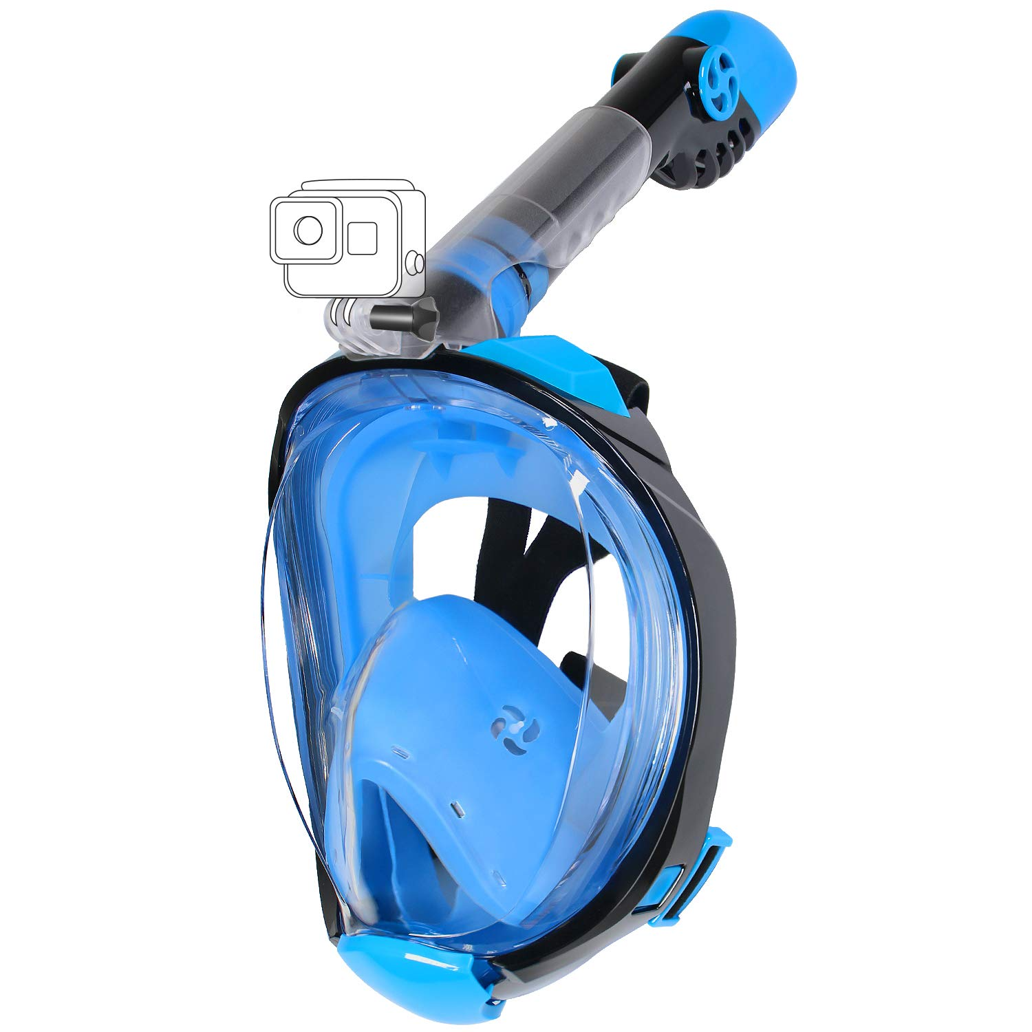 Awesome quality for a full face snorkel, love it!