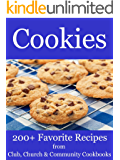 Cookies - 200+ Favorite Recipes from Club, Church and Community Cookbooks