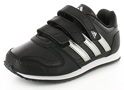 black adidas trainers boys