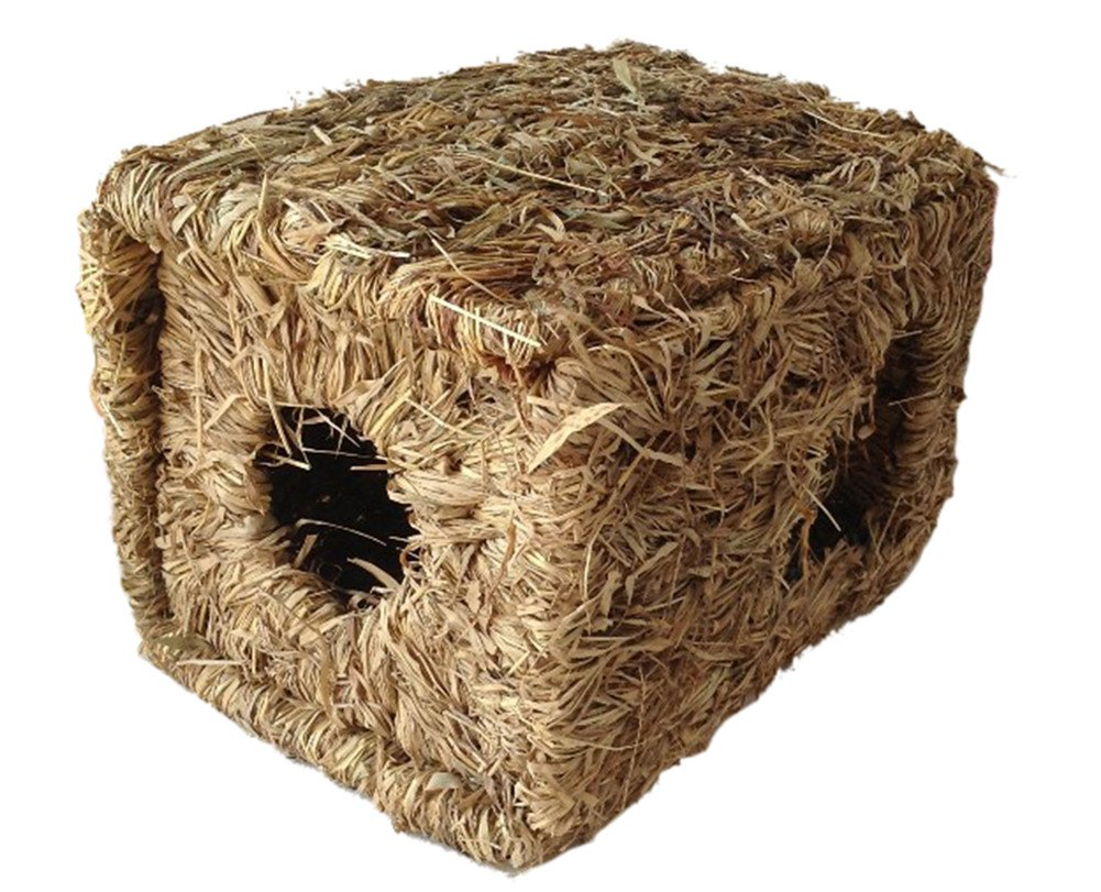 Insun Pet Grass Nests House for Rabbit Guinea Pig Totoro