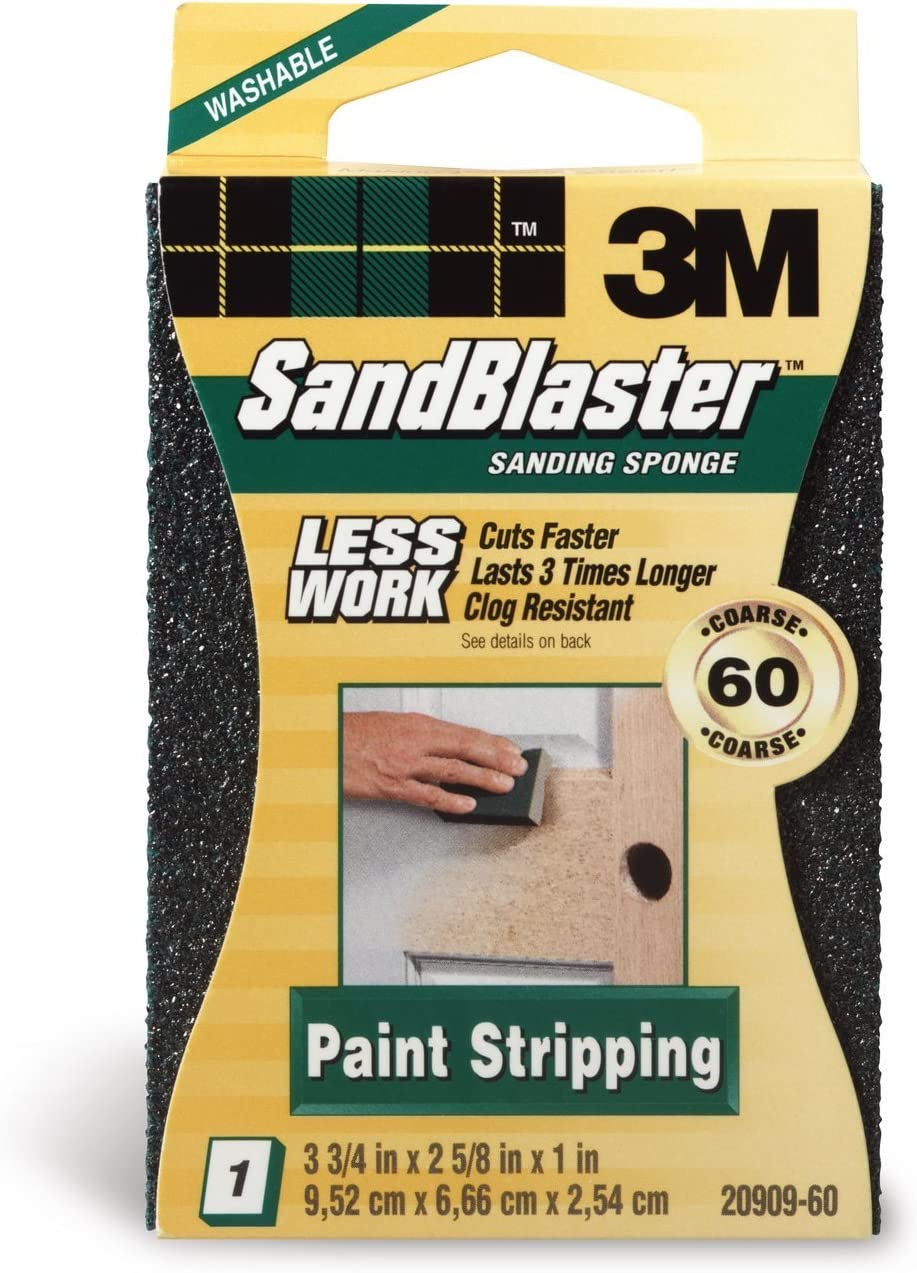 Coarse Grit 3M Paint Stripping Sanding Sponge
