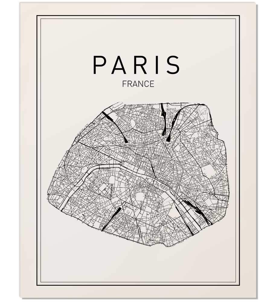 picture about Printable Maps of Paris identify Paris Map Print, Paris Map, Map Artwork, Map of Paris, Town Map Wall Artwork, Paris Map Artwork, France Town, France Map Print, Town Map, Map Wall Artwork, France