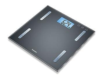 Beurer BF180 - Báscula digital de vidrio, IMC, LCD XL, 180 kg /