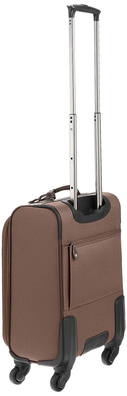 a5ef0ec330 ... AMANDA BELLAN AMANDA BELLAN CAソフトキャリーケース TSAロック 機内持込サイズ Sサイズ キャリーバッグ  SUITCASE B014F8B4RK ブラウン ブラウン -スーツケース ...