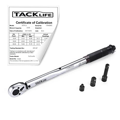 "Review TACKLIFE 3/8"" Torque Wrench"