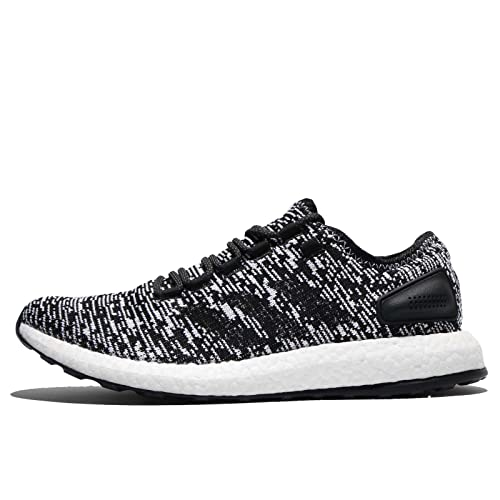 537c8d3465614 Adidas Men s Pureboost Cblack Cblack Ftwwht Running Shoes - 8 UK India (