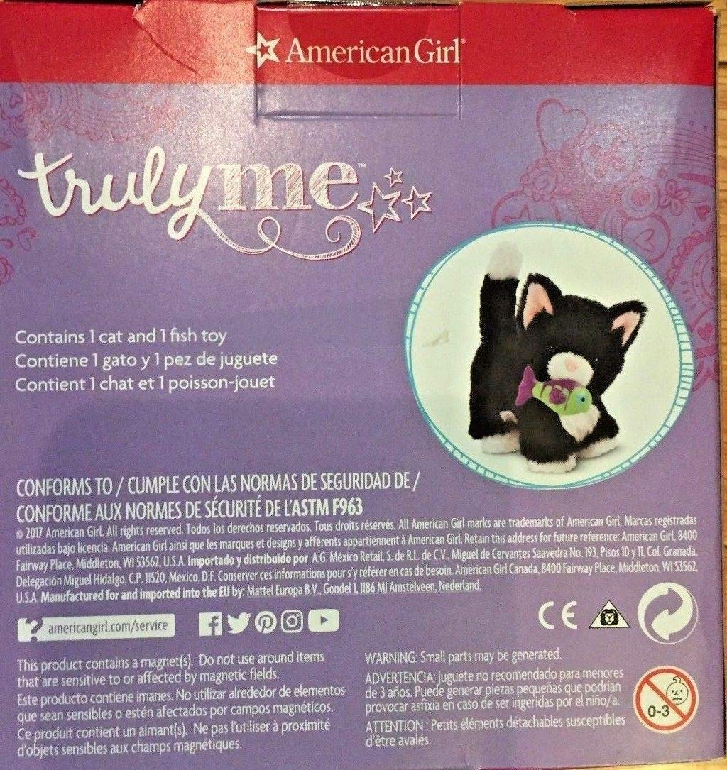 Amazon.com: American Girl Pet - Tuxedo Cat for Dolls - Truly Me 2017: Toys & Games