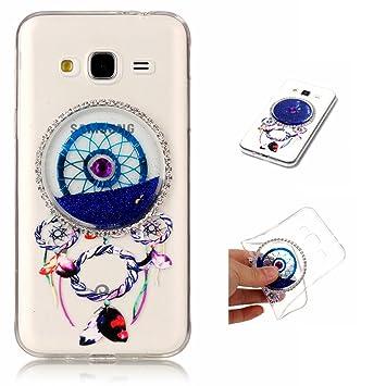 Transparent Handy H/ülle f/ür Samsung Galaxy J3 Weich TPU Silikon Schutzh/ülle Niedlichen Muster Schale Tasche Ultrad/ünnen Etui Anti-sto/ß Kratzfeste Case Cover SpiritSun 6 x Samsung Galaxy J3 H/ülle