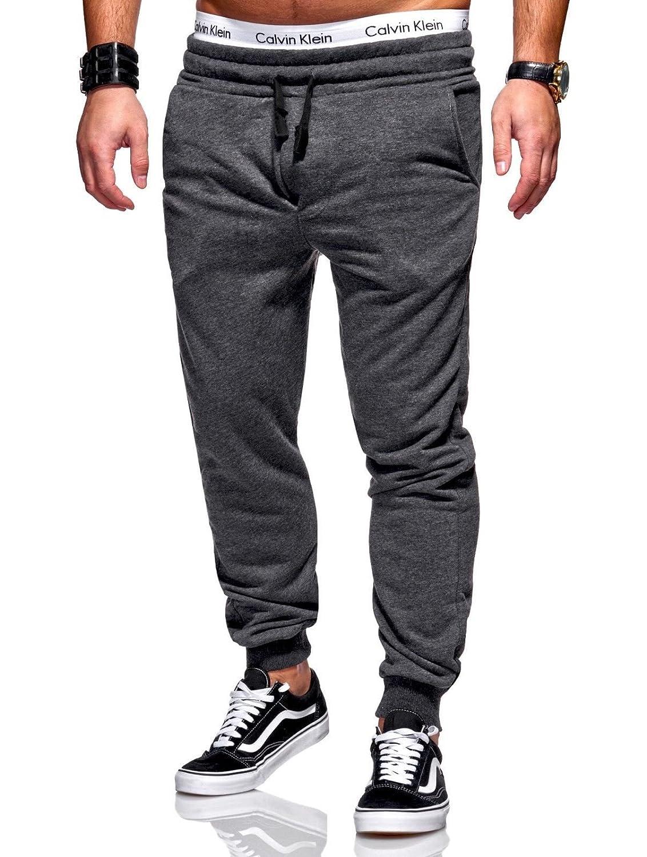 BEHYPE Men's Active Jogging Sweat Pants Trousers Basic R-2220