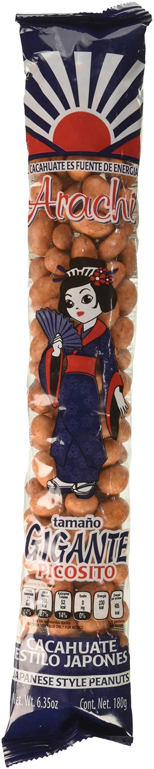 Arachi Picosito Japanese Cocktail Style Peanuts (Cacahuate Estilo Japones) 10-pcs 3-