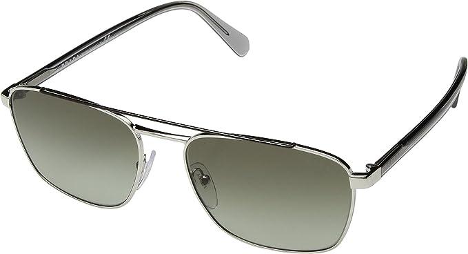 Prada 0PR 61US Gafas de Sol, Brown/Silver 59 para Hombre ...
