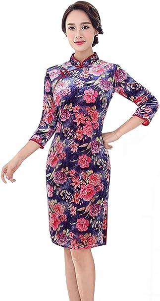 YueLian Mujeres Disfraz de Vestido de China Prendas de Vestido de ...