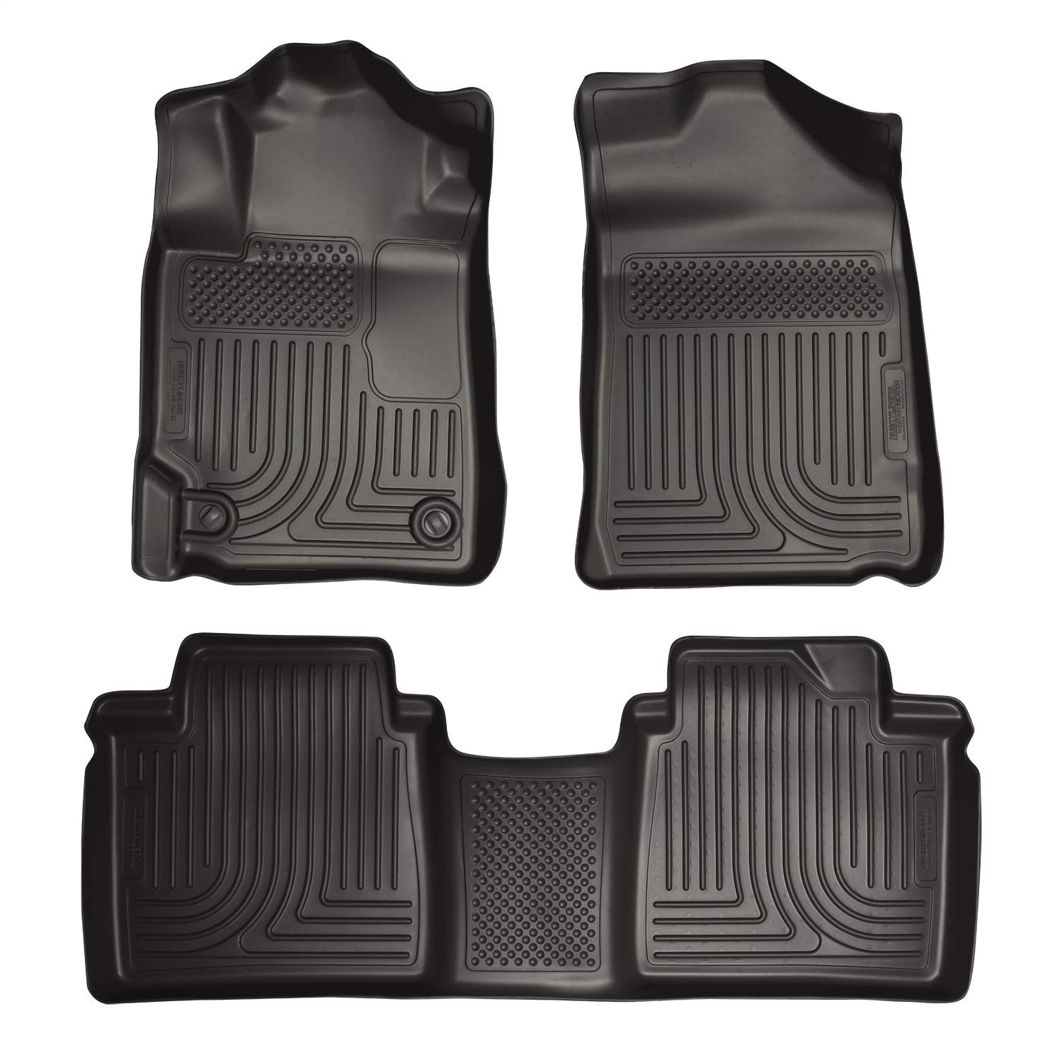 Husky Liners Fits 2007-11 Toyota Camry Weatherbeater Front /& 2nd Seat Floor Mats