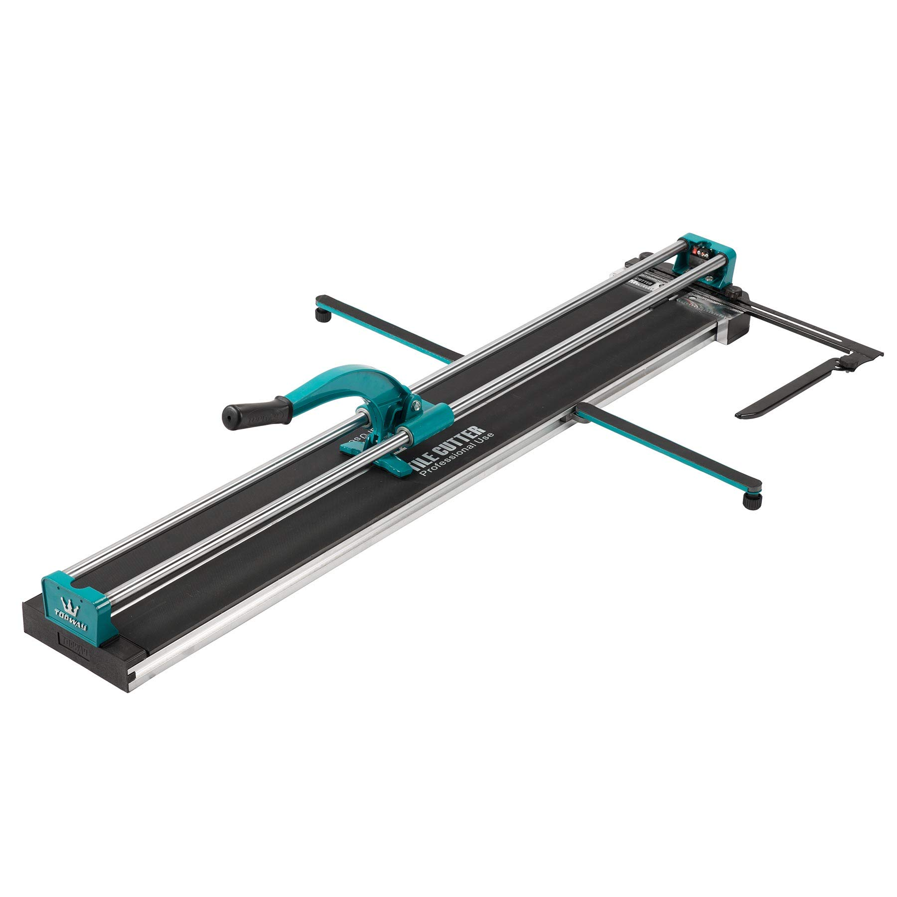 CO-Z Manual Tile Cutter 48'' Cutting Length Professional Porcelain Ceramic Floor Tile Cutter Machine Adjustable Laser Guide for Precision Cutting (48 inch)