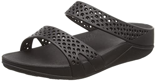 Fitflop Welljelly TM Z Infradito Donna Nero all Black Rubber 41 EU