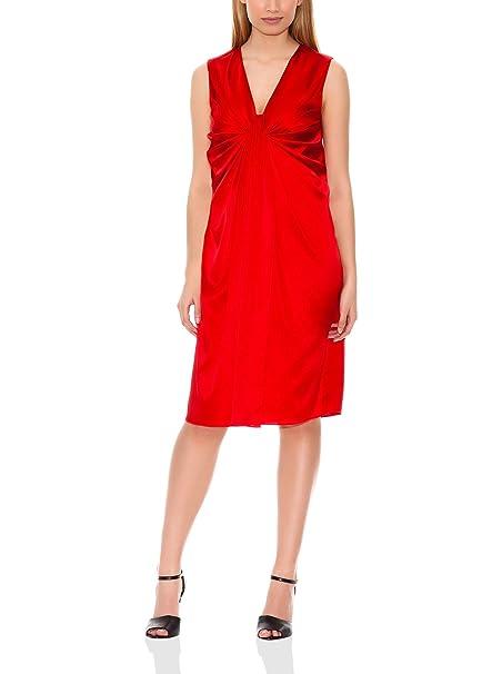 Hugo Boss Vestido Doresa Rojo Brillante 36
