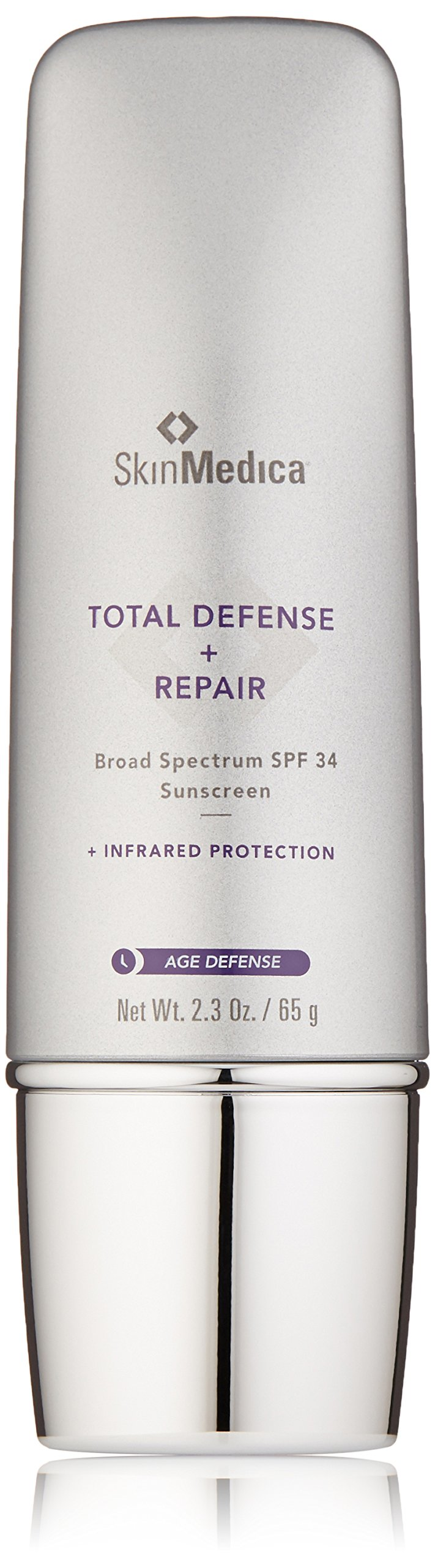 SkinMedica Total Defense Plus Repair Sunscreen, SPF 34, 2.3 oz.