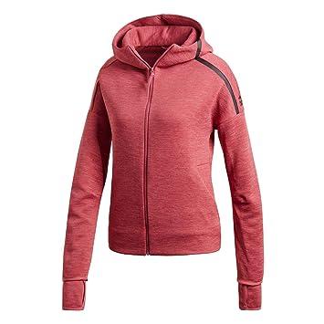 Adidas Giacca Con Cappuccio Zip Z.N.E. Fast Release Donna Rosa CW5745-ROSA c141354e6d719