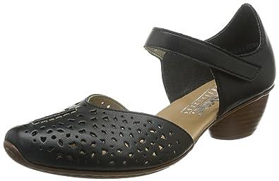 Rieker Women's 43702 Closed Toe Heels