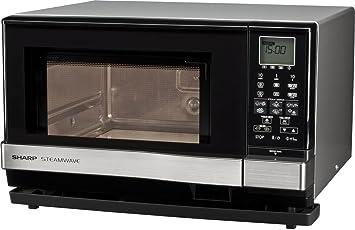 Sharp AX1110INW - Microondas combi, 27 l, 3 en 1, 900 W,