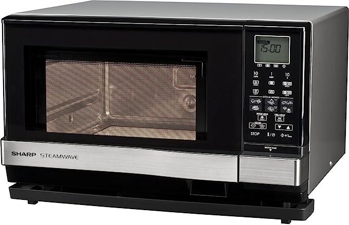 Sharp AX 1110 INW Microondas Combi 27L, 3 en 1, 900W, Vapor ...