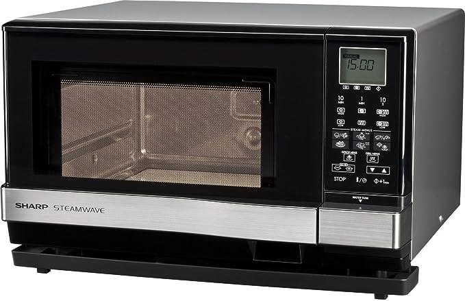 Sharp AX 1110 INW Microondas Combi 27L, 3 en 1, 900W, Vapor 910W ...