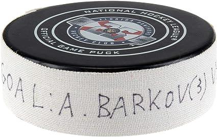 Aleksander Barkov Florida Panthers Game-Used Goal Puck from November ... 659163818