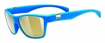 Uvex Herren Sonnenbrille, Blau, One Size